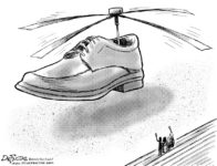 Bush's Shoe Helicopter