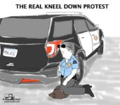 The Real Kneel Down Protest